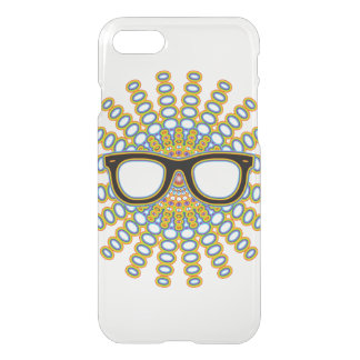 Sunny Nerd Glasses + your backgr. & ideas iPhone 7 Case