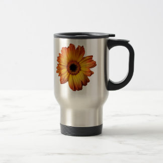 Sunny Orange gerbera flower bloom Coffee Mug