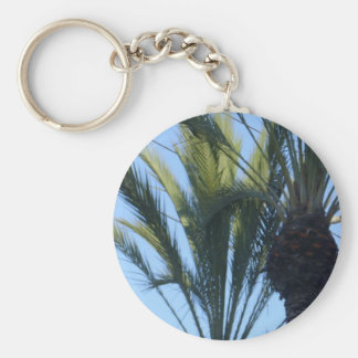 Sunny Palm Trees Keychains