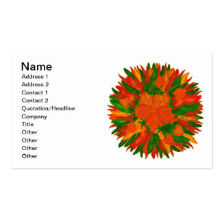 Sunny Peppers Business Cards
