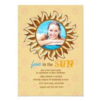 Sunny Photo Invitation