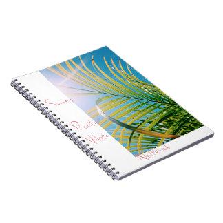 Sunny Positive Vibes Notebook
