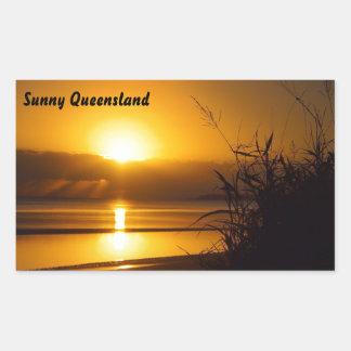 Sunny Queensland sticker