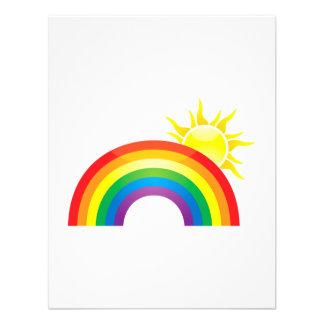 Sunny Rainbow Invite