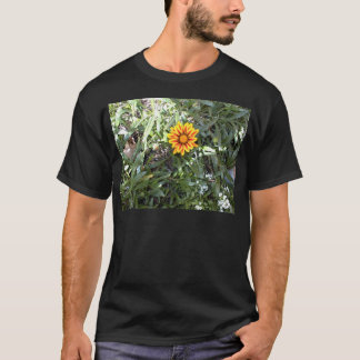 Sunny Red and Yellow Blossom T-Shirt