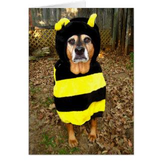 Sunny 'Saddest Bee' Greeting Card