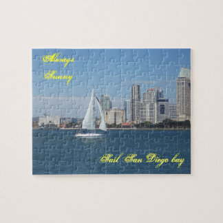 Sunny San Diego Bay Puzzle and Gift Box