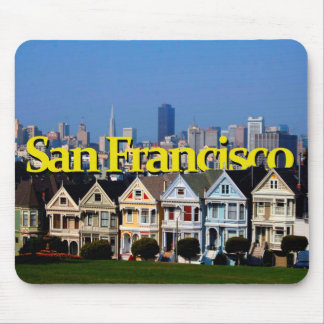 Sunny San Francisco w/ San Francisco in the Sky Mouse Pad