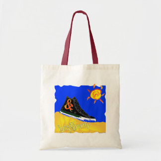 """Sunny Shoe"" by Katie winner 08.03.09 Budget Tote Bag"