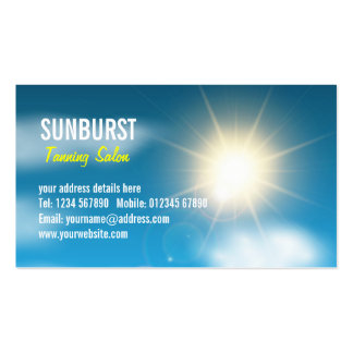 Sunny Sky Business Card