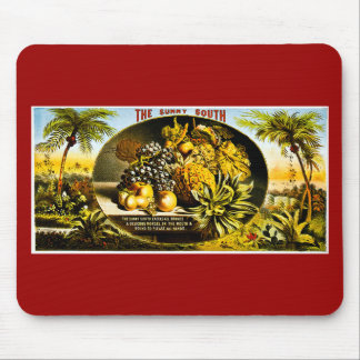 Sunny South 1874 Vintage Cigar Label Mouse Pad