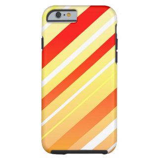 Sunny Stripes Tough iPhone 6 Case