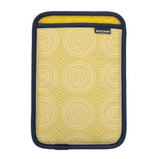 Sunny summer abstract pattern sleeve for iPad mini