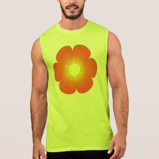 Sunny Summer Flower Sleeveless Shirt