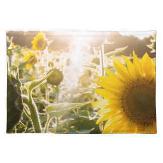 Sunny Sunflower Field Placemat
