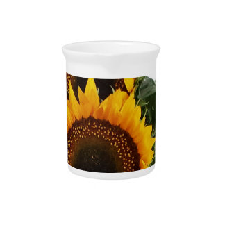 Sunny Sunflowers Pitcher