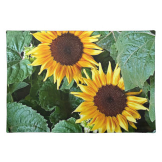 Sunny Sunflowers Placemat