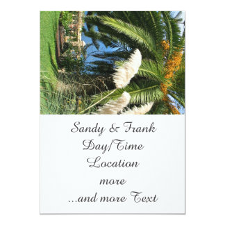sunny Tenerife 13 Cm X 18 Cm Invitation Card