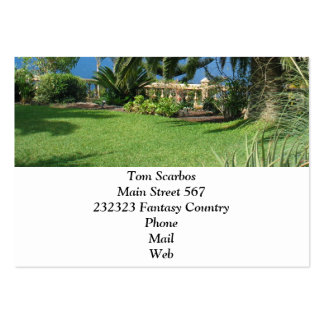 sunny Tenerife Business Card Template
