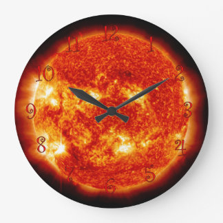 Sunny Time Large Clock