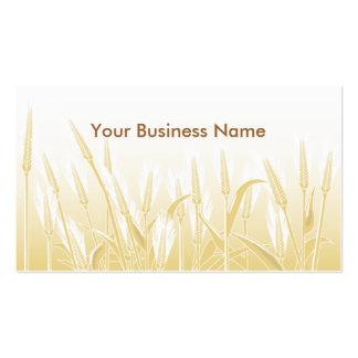 Sunny Wheat Field Business Card