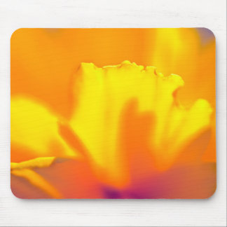 Sunny wildflower mouse pad