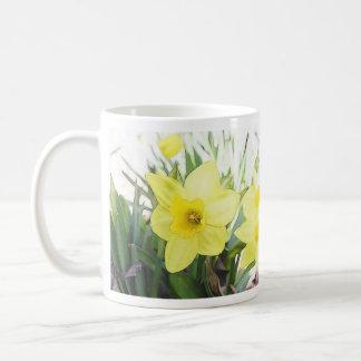Sunny Yellow Daffodil Coffee Mug
