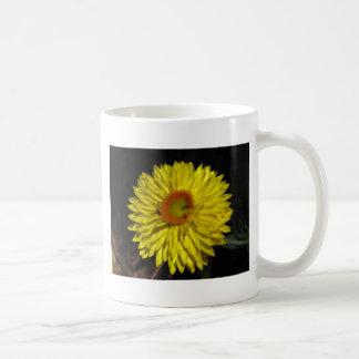 Sunny Yellow Daisy Basic White Mug