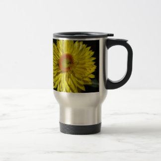 Sunny Yellow Daisy Mugs