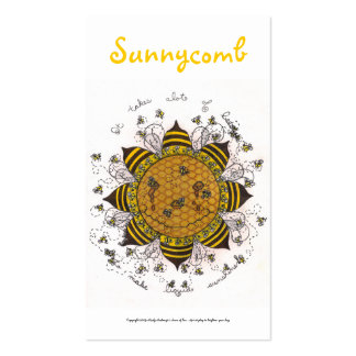 Sunnycomb Series #4 Pack Of Standard Business Cards
