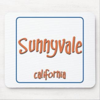 Sunnyvale California BlueBox Mouse Pad