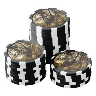 Sunray Forest Poker Chips
