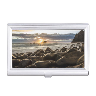 sunrise-1239727 business card holder
