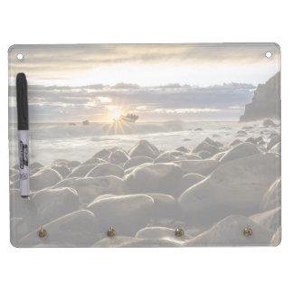 sunrise-1239727 dry erase board with key ring holder