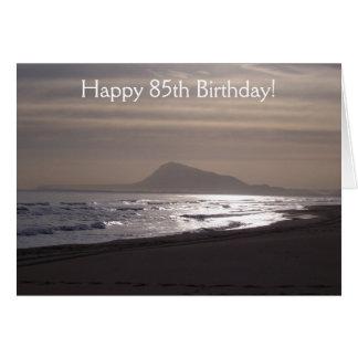 Sunrise 85th Birthday Card