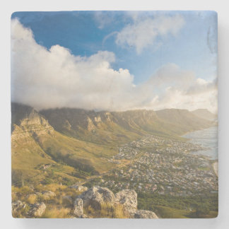 Sunrise Above Camps Bay And Table Mountain Stone Beverage Coaster