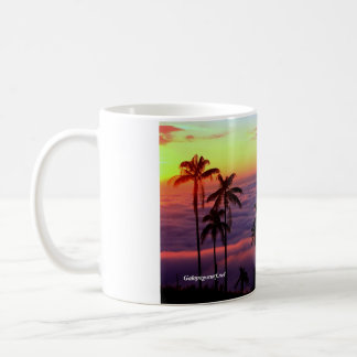Sunrise Above The Clouds Coffee Mug