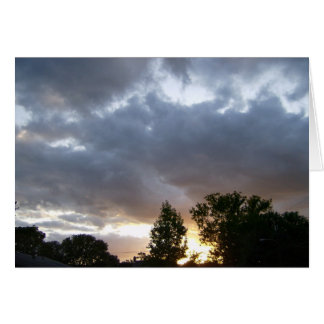 Sunrise Along Ohio River Valley Card