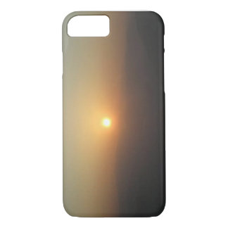 Sunrise as seen with the fog iPhone 8/7 case