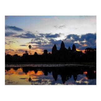 Sunrise at Angkor Wat, Cambodia - Postcard