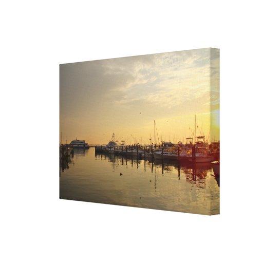 Sunrise at Atlantic Highlands NJ Canvas Print