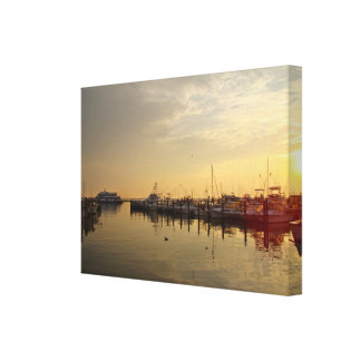 Sunrise at Atlantic Highlands NJ Gallery Wrapped Canvas