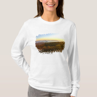 Sunrise at Cadillac Mountain with Hikers T-Shirt