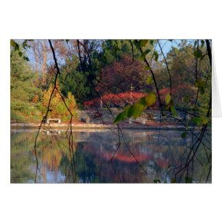 Sunrise At Cox Arboretum #23 Card