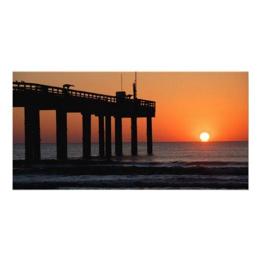 Sunrise at fishing pier st augustine beach fl photo for St augustine fishing pier