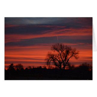 Sunrise at Harper Lake Card