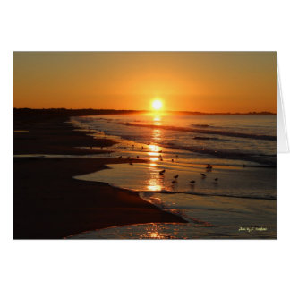 Sunrise at Horseneck Beach Card