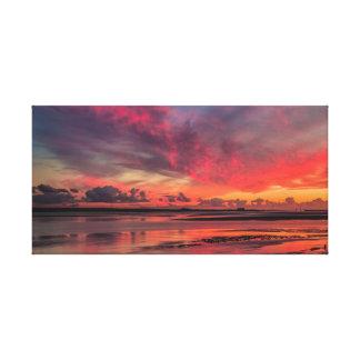 Sunrise at Lydney Harbour Canvas Print