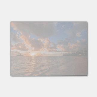 Sunrise At Mokulua Island Post-it Notes