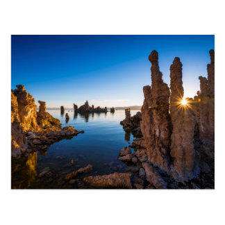 Sunrise at Mono lake, California Postcard